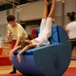 Akrobatik Gymnastik Konradsbergshallen Sommar Multi Sport Camp
